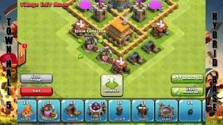 Стратегия защиты базы Clash of Clans 5 уровень