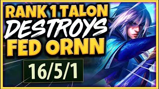 #1 TALON WORLD TOP LANE GUIDE (EASIEST KILLS POSSIBLE) - League of Legends