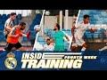🔥 RAMOS & MARCELO skills and volleys as team prepares for LaLiga return!