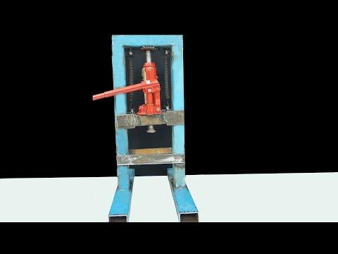 Wow !!! DIY Mini Hydraulic Press