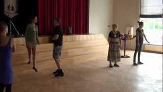 Salsas nodarbība Kubas novirziena Rueda (Agnese Kalniņa) 28 08 2012 - 01051
