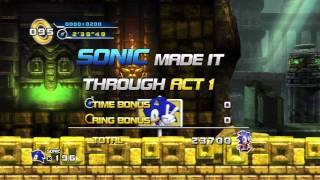 Sonic The Hedgehog 4 Ep. 1 (Golden Flash Trophy)