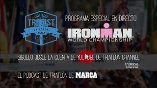 Retransmisión del campeonato del mundo de IRONMAN en Kona, Hawai IR...