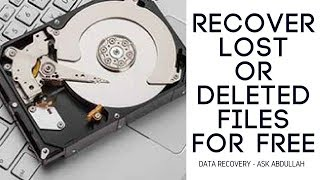 Recover Your Lost Data From Hard Drive And USb |With Serial Key |2018