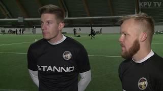 KPV haastattelu to 4.1.2017 - Kalle Multanen ja Patrick Poutiainen