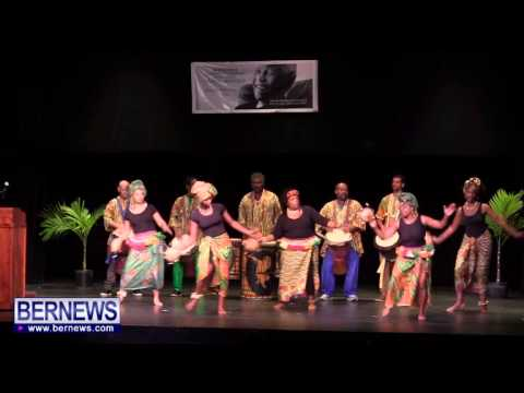 #2 Bermuda African Dance Company At Mandela Celebration, Dec 15 2013