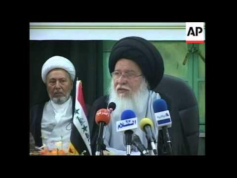 Sunni, Shiite, Kurdish clerics and tribal leaders meet to discuss violence