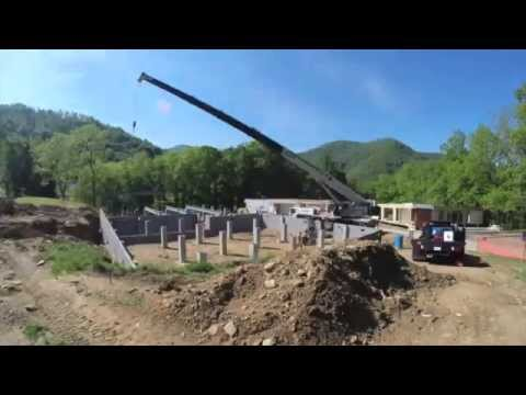 Modular Construction Project in Asheville