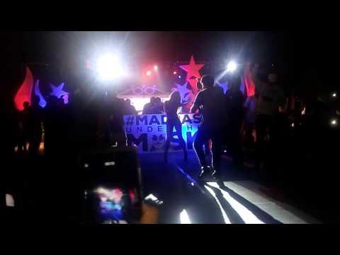 DJ kaila Troy dancing!!! at Srm university