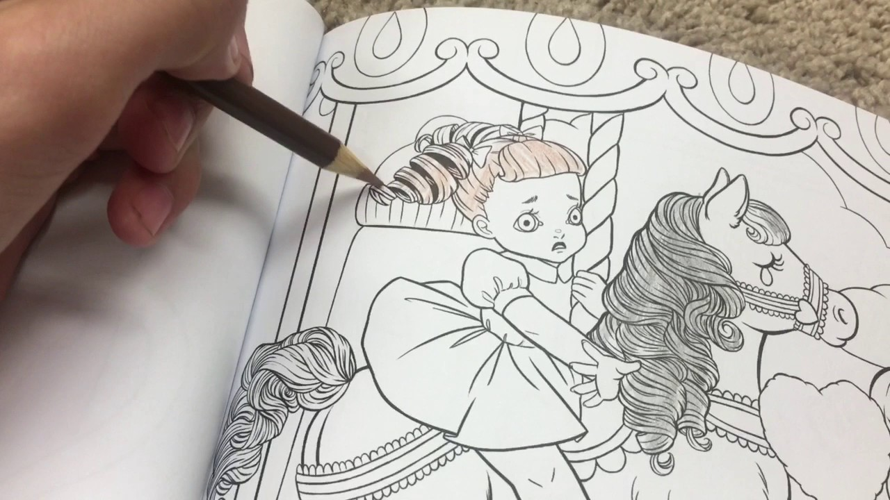 Melanie Martinez coloring book - YouTube