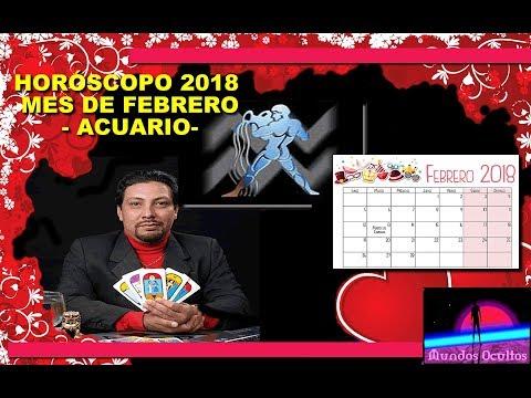 Horóscopo del mes de febrero 2018 para acuario, por Reynaldo Silva