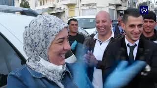 في زمن الكورونا  لحظات فرح وزفاف استثنائي في فلسطين 8/4/2020