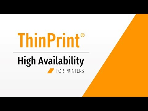 High Availability Printing thanks to Clustering, Failover and Load