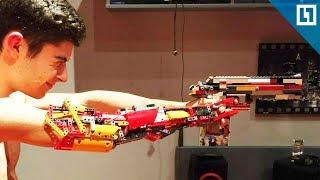 собрал протез из Лего
