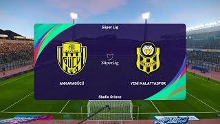 PES 2021 Ankaragucu vs Yeni Malatyaspor Turkey Super Lig 02 01 2021 1080p 60FPS