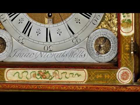 Antique Clocks: Isaac Nickals Longcase Clock (Wells, circa 1740)