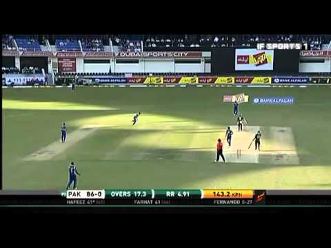 Mohammad Hafeez 83 V Sri Lanka - 3rd ODI.FLV