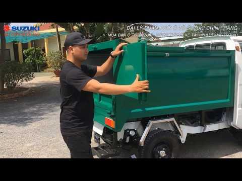 Xe Chở Rác Suzuki Ben Chuyên Dùng cho Đô Thị [Mới Nhất 2019]