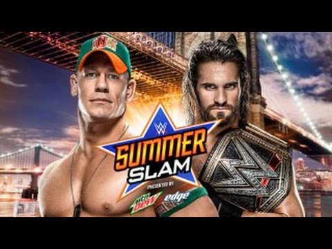 WWE SummerSlam 2015 ► Seth Rollins Vs...