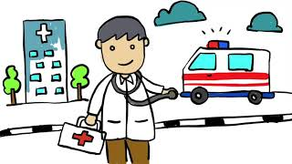 Menggambar Profesi Pekerjaan Dokter Untuk Anak Tk Paud Youtube
