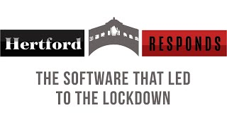 Hertford Responds: The Software that led to the Lockdown with Professor Michael Wooldridge
