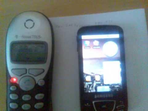 Samsung Galaxy i7500 - Call Fails