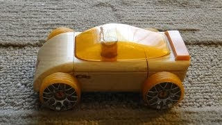 Automoblox Mini C9s - Automoblox By Calello Wooden Toy Cars