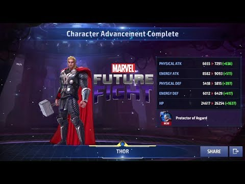 Marvel Future Fight Part 6 - Welcome to Tier 2 The Mighty Thor