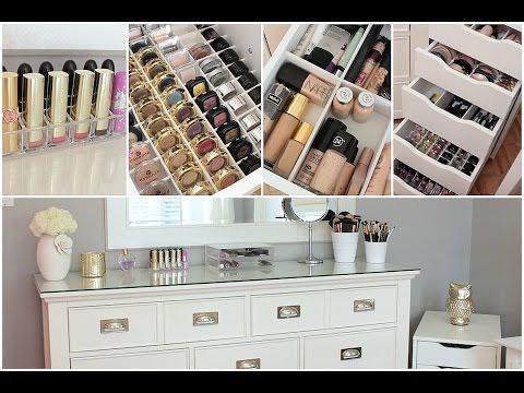 Makeup Collection, Organization, & Storage + Vanity Tour 2014