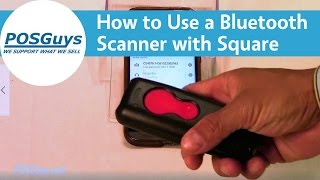 How to use your bluetooth barcode scanner with square for android. pairing scanners mobile: https://www./watch?v=32xw81lhed...