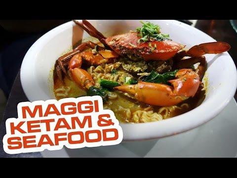 Maggi Ketam Seafood Megi Ketam Bistro Dungun Terengganu Malaysia