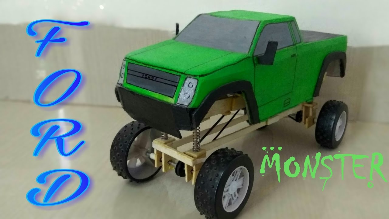 Wow Amazing Ford Truck With Suspension Monster Truck How