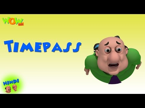 Time Pass - Motu Patlu in Hindi WITH ENGLISH, SPANISH & FRENCH SUBTITLES