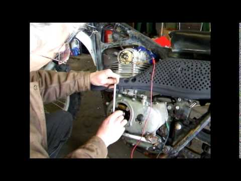 Motorcycle Points Ignition system  How to set them accurately!