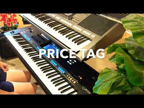 PRICE TAG - JESSIE J.- Cover on Yamaha Genos keyboard