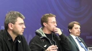 Пресс-конференция Ивана Охлобыстина в РИА-новости