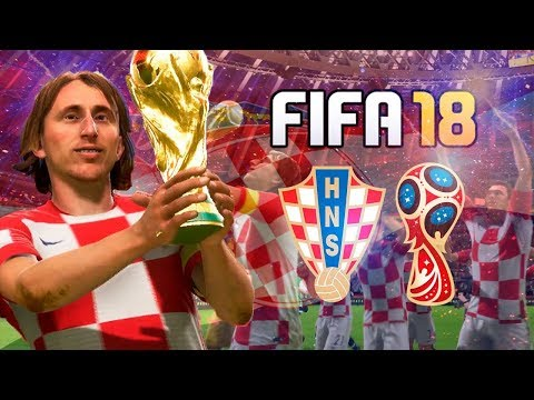 CROATIA WORLD CUP FULL PLAY THROUGH - FIFA 18 World Cup Mode