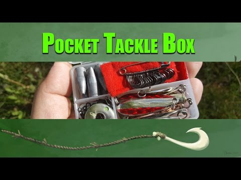 Pocket Tackle Box... Survival Fishing Gear