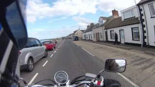 Riding from Donaghadee to Burr Point on the Ards Peninsula