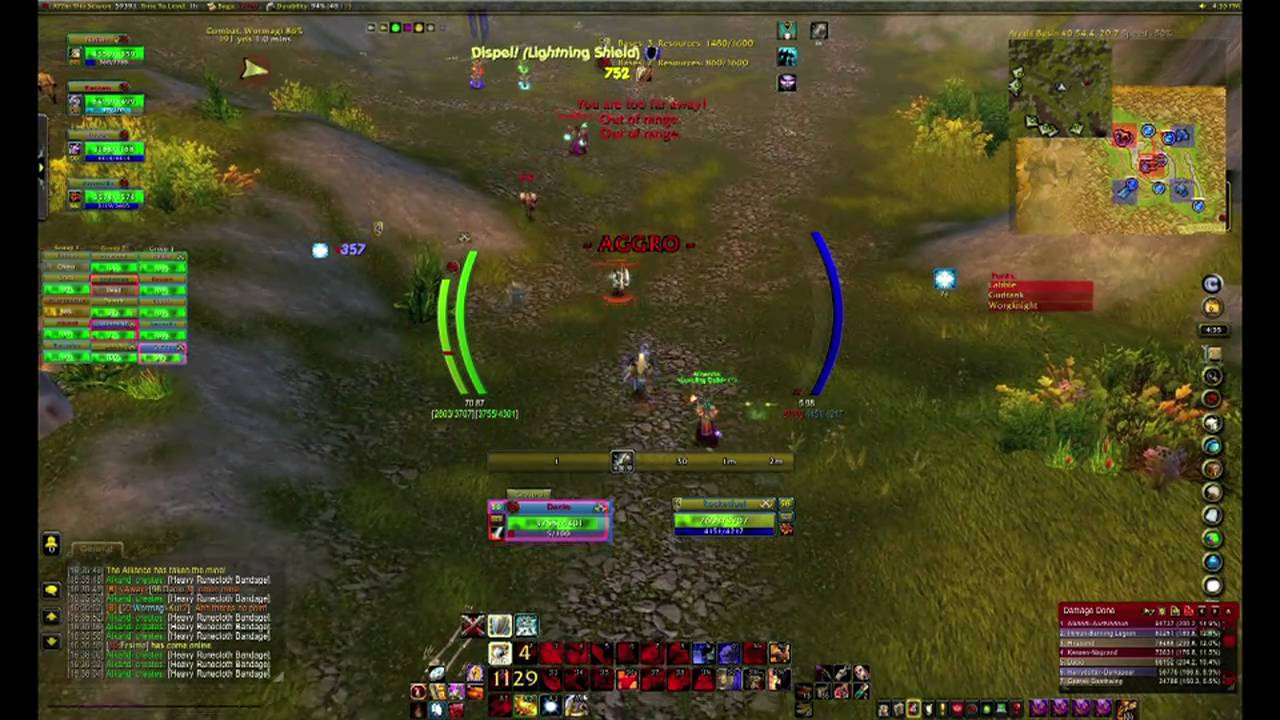 Blood Elf Warrior Protection Pvp Level 50 60 Wow Dacio Youtube