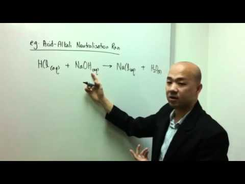O-Level Chemistry . IP Chemistry: How to Write An Ionic Equation in 5 minutes - Part 1