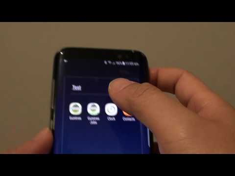 Samsung Galaxy S8: How to Rename an App