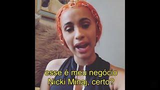 Cardi B expõe e detona Nicki Minaj pelo Instagram (LEGENDADO)