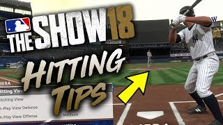 Best Hitting Tips MLB The Show 18 (Tutorial & Tips)