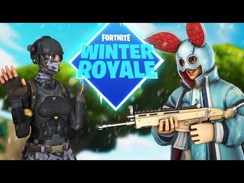 we qualified for the fortnite winter royale youtube. Black Bedroom Furniture Sets. Home Design Ideas