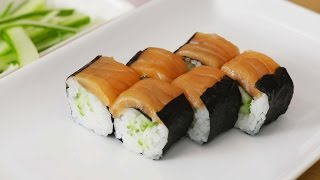 Salmon Maki Sushi With a Twist