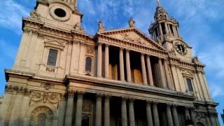 Лондон. Англия.  Собор Св.  Павла.(Собор Святого Павла является духовным центром Лондона, где проходят похороны и венчания знаменитых особ...., 2016-11-07T23:32:14.000Z)