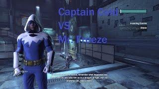 Batman Arkham City Captain Cold vs. Mr. Freeze