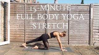 Video FULL BODY YOGA STRETCH   15 Minute Yoga Flow   CAT MEFFAN download MP3, 3GP, MP4, WEBM, AVI, FLV Maret 2018