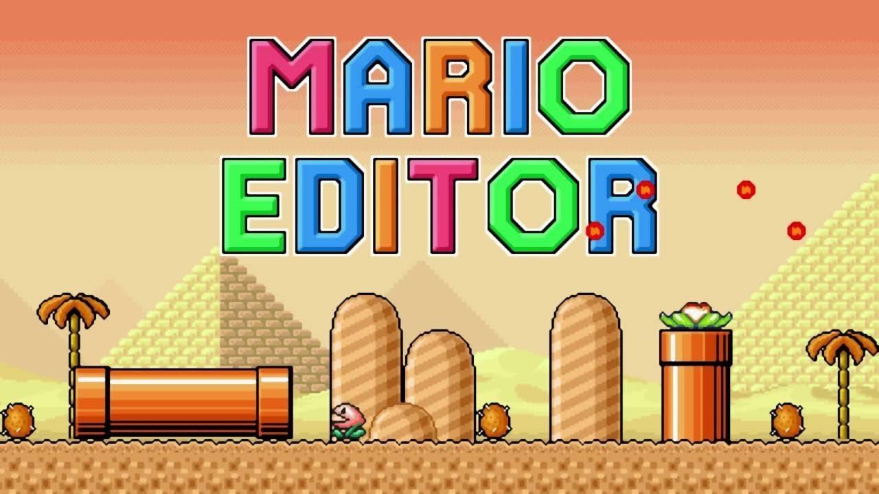 Mario Editor #6 To nam dało przeszkody! (DESERT CAVE)